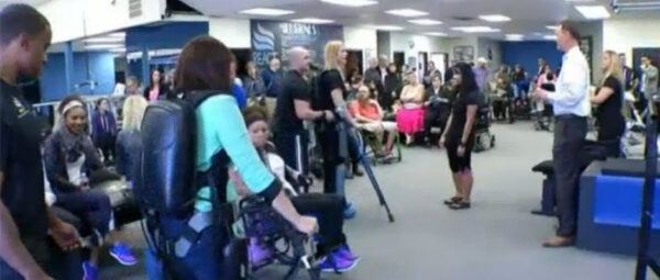 ReWalk Unveiled in Dallas - NBC 5 Dallas-Fort Worth News