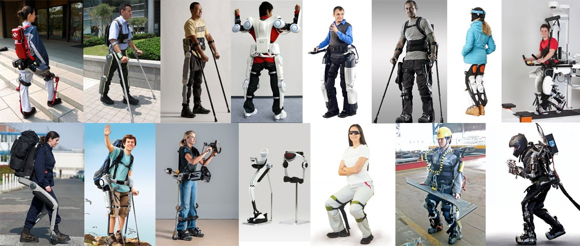 15 Commercial Exoskeletons in Development at the Start of 2015