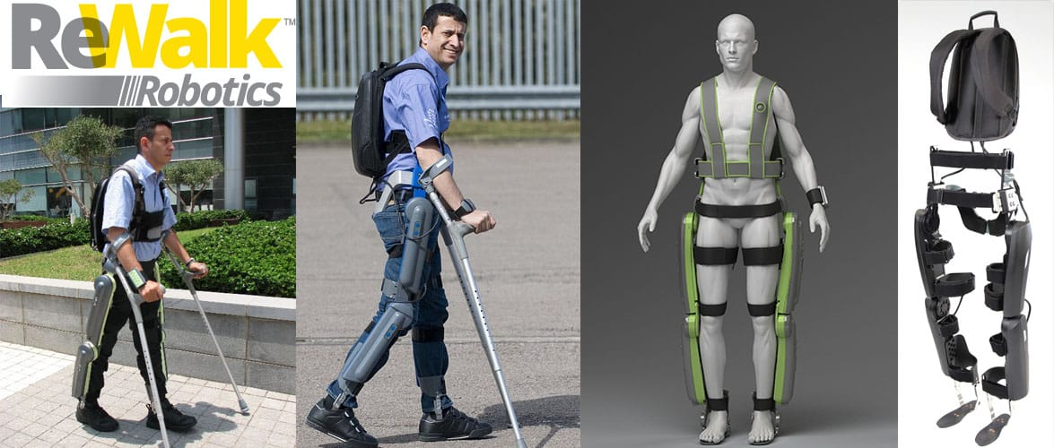 ReWalk Exoskeleton by ReWalk Robotics