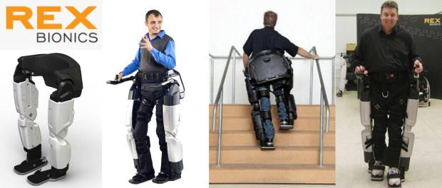 REX Exoskeleton by Rex Bionics
