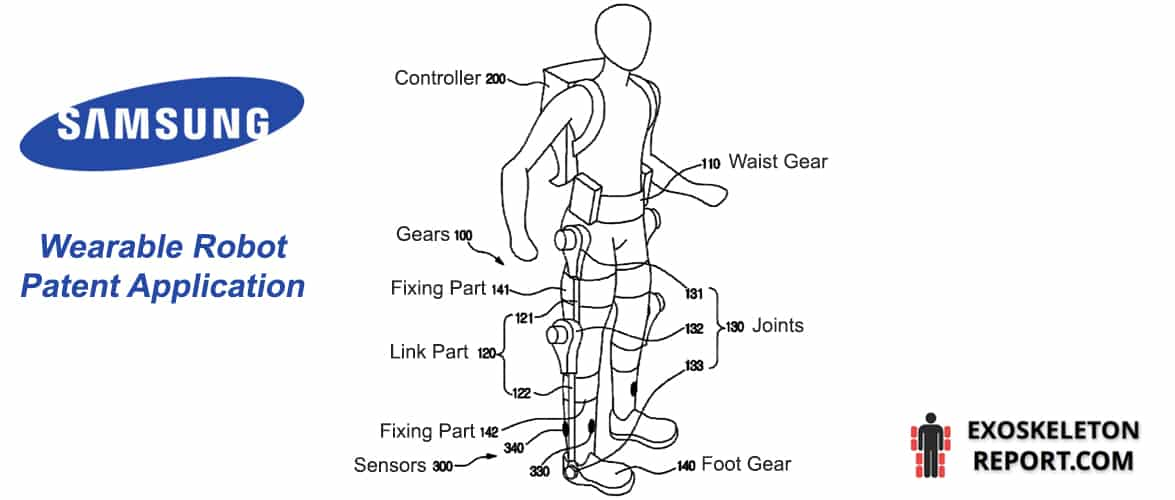 Samsung Wearable Robot Application Figure / US Patent and Trademark Office