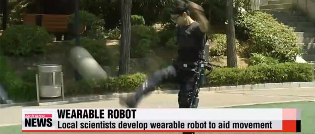 Exoskeleton by Seoul′s Sogang University / Arirang News, 2015
