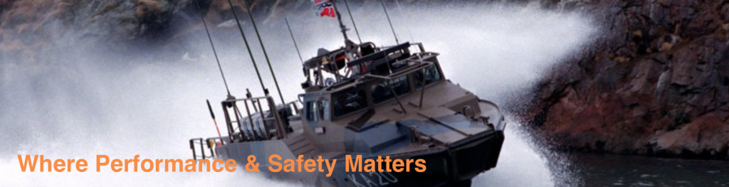 The crew of Navy patrol boats are a great candidate for the Marine Mojo, 20knots-plus