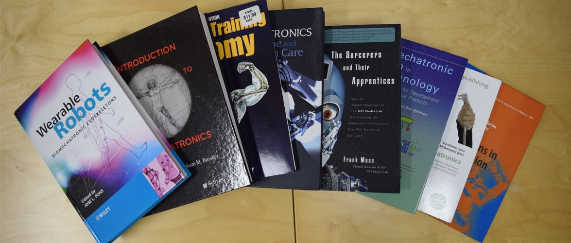 Exoskeleton and Wearable Robotics Books