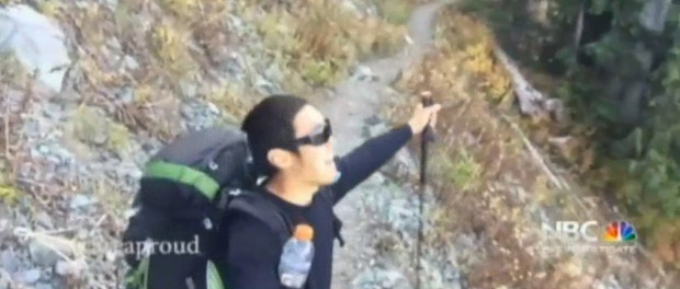 Eugene Yoon On The Pacific Crest Trail, NBC Bay Area, Oct 2015, http://www.nbcbayarea.com/news/local/Castro-Valley-Man-Hikes-Pacific-Crest-Trail-Raises-Tens-Of-Thousands-So-Paralyzed-Stranger-Can-Take-First-Steps-In-Years-338615052.html