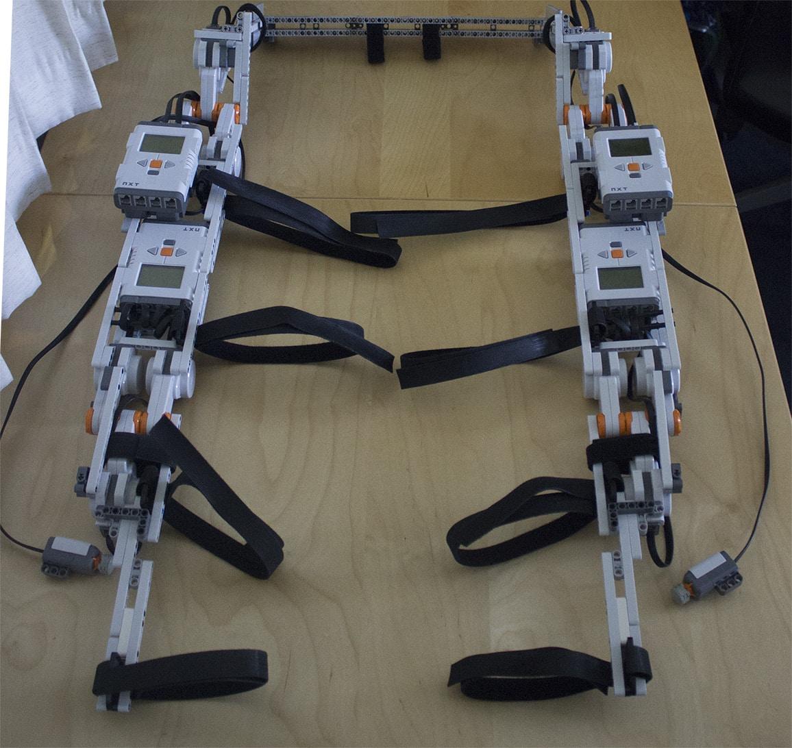LEGO Powered Hip-Knee Exoskeleton