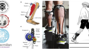 Passive ankle exoskeleton that successfully reduced the metabolic cost of walking on even terrain for healthy individuals, University of North Carolina At Chapel Hill and North Carolina State University, 2015