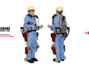Power Assist Suit (PAS) For Nuclear Disasters - Mitsubishi Heavy Industries (MIH) and Japan Atomic Power Company (JPAC), Dec 2015, http://www.jaif.or.jp/en/mitsubishi-heavy-industries-develops-power-assist-suits-for-nuclear-disasters/