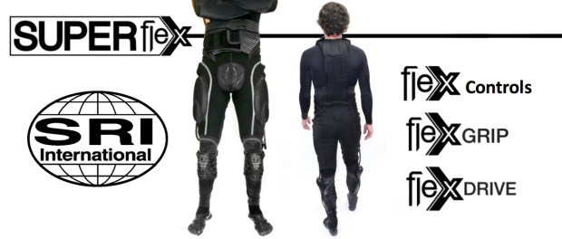 SRI Robotics Super Flex Exosuit, 2014, https://web.stanford.edu/class/engr110/pdf/SRI-Wearable-Exosuit-Technologies.pdf