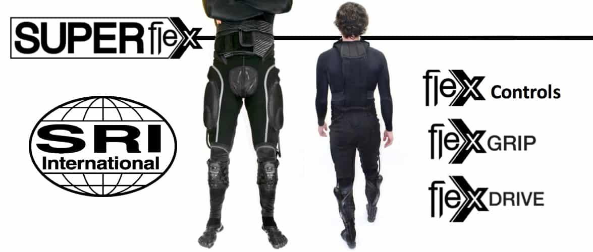 SRI Robotics Super Flex Exosuit, 2014, https://web.stanford.edu/class/engr110/pdf/SRI-Wearable-Exosuit-Technologies.pdf