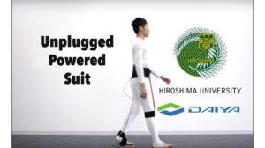 Unplugged Powered Suit, University of Hiroshima and Daiya Industry Co. Ltd., Japan, 2015