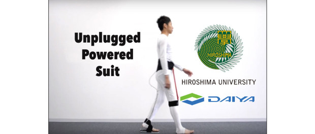 Unplugged Powered Suit, University of Hiroshima and Daiya Industry Co. Ltd., Japan, 2015