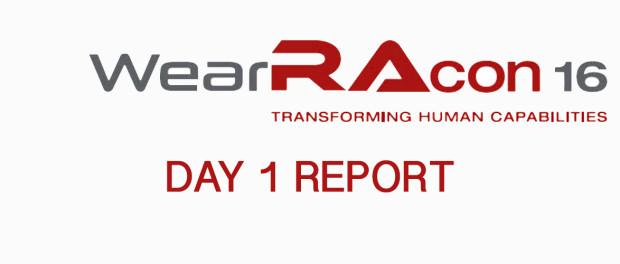 WearRAcon16 Day 1 Report