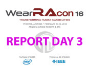 WearRAcon16, Report Day 3, Phoenix Arizona, 2016