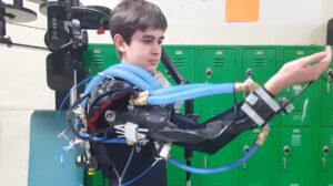Sebastian Torres-Wilcken Pneumatic Exoskeleton