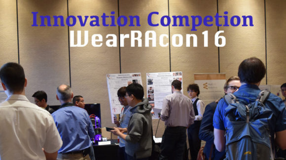 WearRAcon16 Innovation Competition