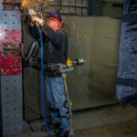 Fortis Exoskeleton By Lockheed Martin In Action, 2014, DesignBoom.com