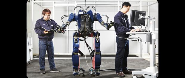 Hyundai Wearable Robot May 2016, http://blog.hyundai.co.kr/Group-Story/Co-efficient/Hyundai-Wearable-Robot.blg#none;