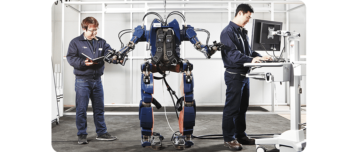 Hyundai Wearable Robot May 2016, http://blog.hyundai.co.kr/Group-Story/Co-efficient/Hyundai-Wearable-Robot.blg#none;