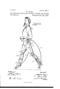 Nicholas Yagn 1980 Exoskeleton Patent