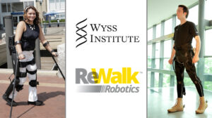 Wyss Institute Announces Collaboration With ReWalk Robotics, Images of ReWalk 6.0 and Wyss Exosuit