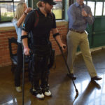 Demonstration of the Ekso GT at Ekso Bionics, 2016