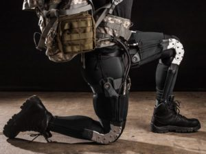 "DARPA Warrior Web Exosuit, Ekso Bionics, Source: Defense Department via <a href=""http://www.armytimes.com/story/military/tech/2014/11/30/exosuit-super-soldier-darpa-aberdeen-army-harvard/19487395/"">Army Times</A>"