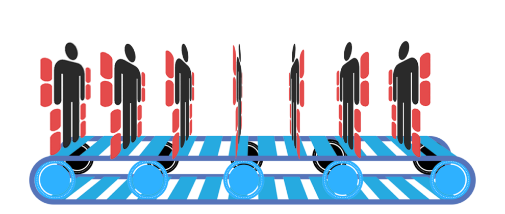 ExR Conveyor Belt Mass Production