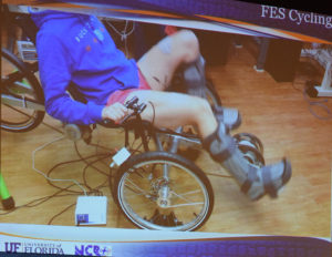 Slide on Functional Electric Stimulation (FES) Cycling