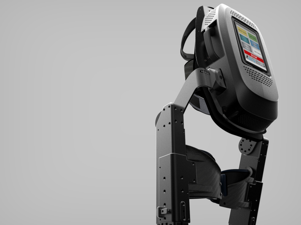 ARKE™ Exoskeleton back view by Bionik Laboratories