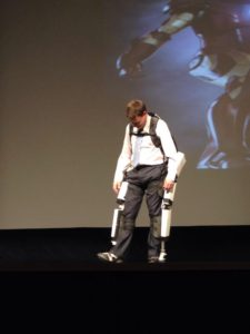"@activebionics demonstrating their beta prosthetic suit #BradFeldinOTT – more economical, more flexible & more human via <a href=""https://www.braceworks.ca/2015/06/27/health-tech/canadian-entrepreneurs-develop-lightweight-exoskeleton/"" target=""_blank"">Brace Works </a>"