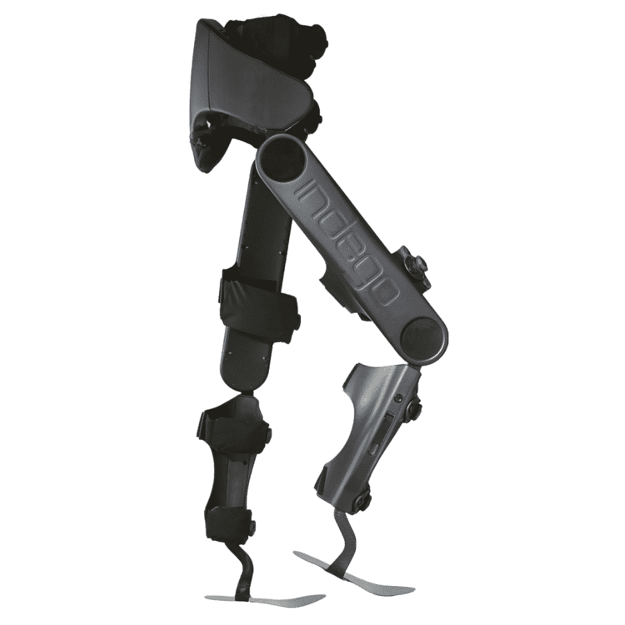 Indego exoskeleton side view via Parker Hannifin Corporation
