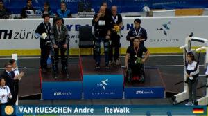 ReWalk Robotics Wins Gold at the Cybathlon Exoskeleton Race
