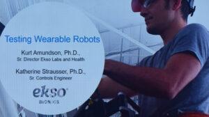 Testing Wearable Robots
