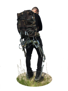 Exobuddy military exoskeleton by InteSpring