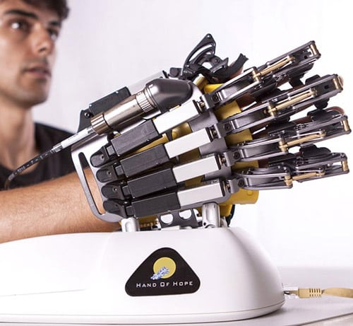Hand of Hope via Rehab-Robotics