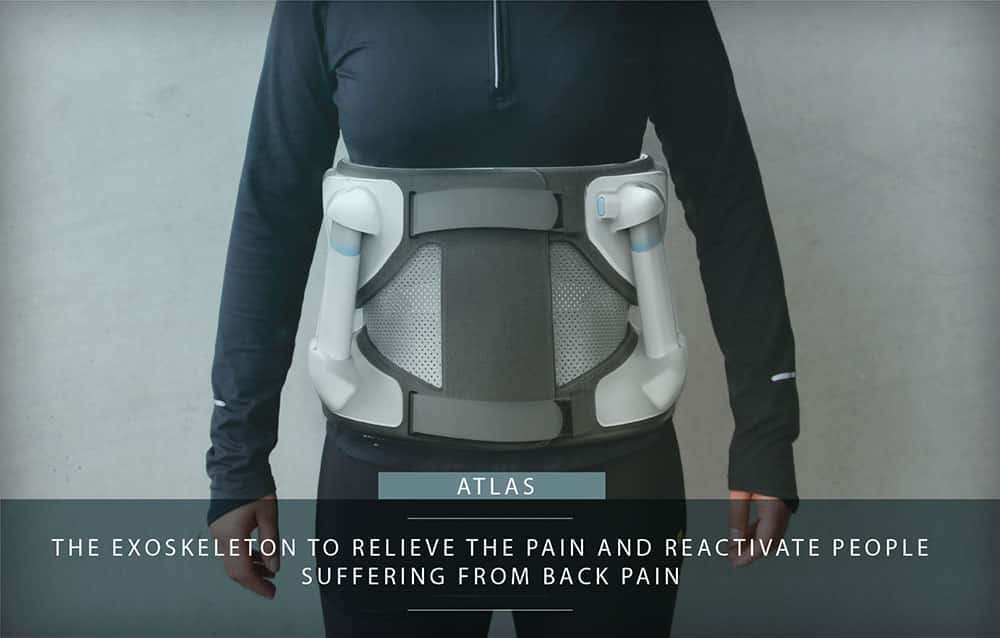 Atlas waist exoskeleton by Japet