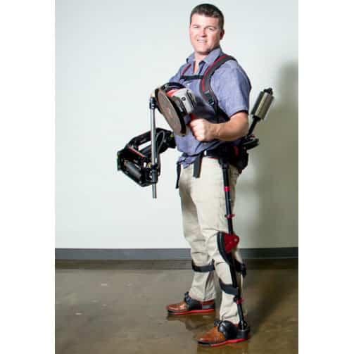 Ekso Works tool holding exoskeleton by Ekso Bionics, 2015