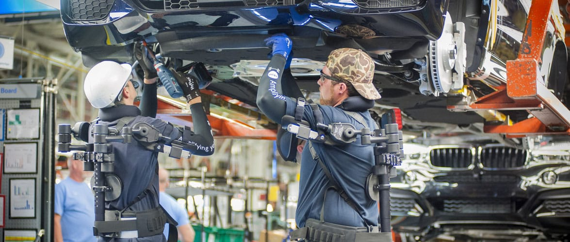 Bmw Group Harnesses The Potential Of Exoskeleton