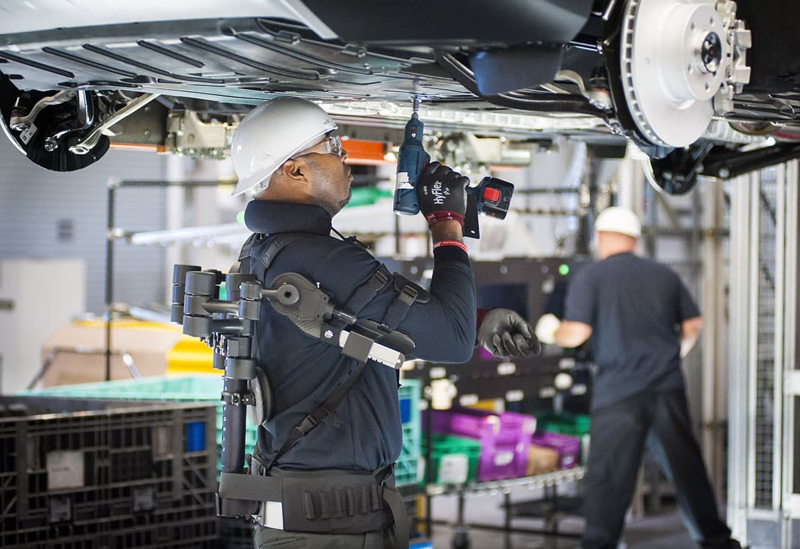 BMW Group Harnesses The Potential of Exoskeleton ...