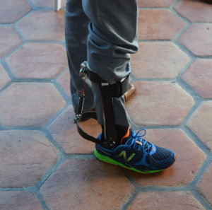Passive Ankle Exoskeleton at WearRAcon16