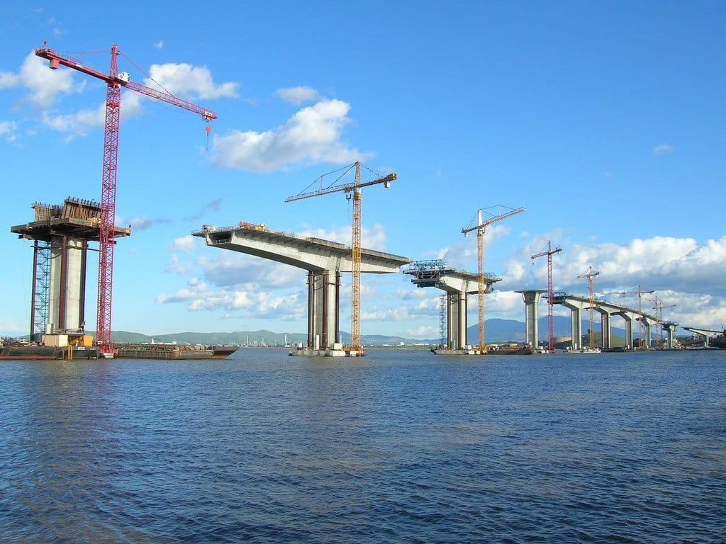 Benicia Bridge Construction via City-Data