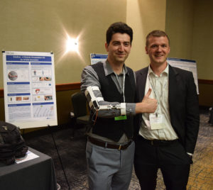 EduExo's Volker Bartenbach and ExR's Bobby Marinov at WearRAcon17