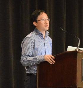 Fourier Intelligence CEO Jie Gu at WearRAcon17