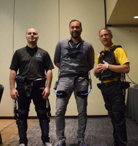 Exoskeletons by B-Temia, Laevo and ASU at WearRAcon17 Day One