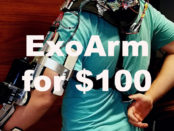 $100 Exoskeleton Arm