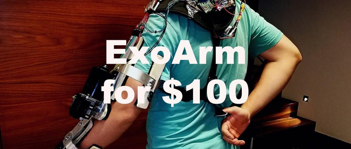 $100 Exoskeleton Arm