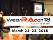 WearRAcon18 March 21-23, 2018