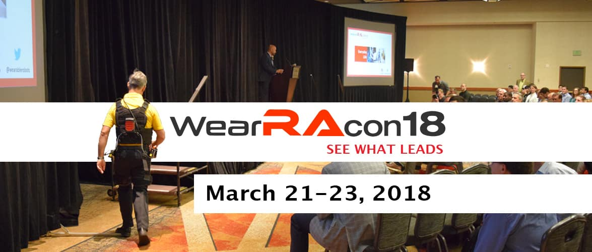 WearRAcon18 March 21-23, 2018