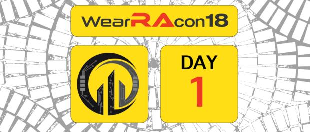 WearRAcon18 Day One